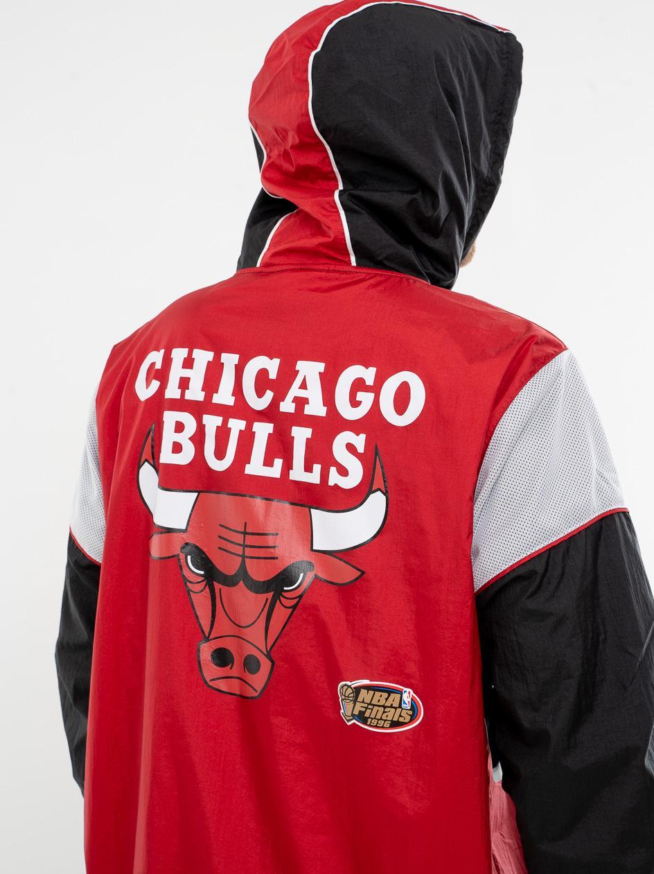 Kurtka Wiatrówka Mitchell & Ness Chicago Bulls NBA Highlight Reel Czerwona