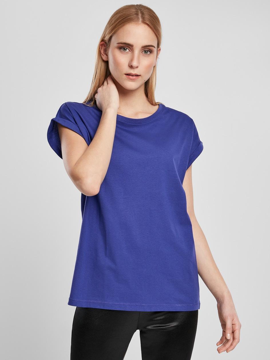 Damska Lużna Koszulka Z Krótkim Rękawem Urban Classics TB771 Fioletowa