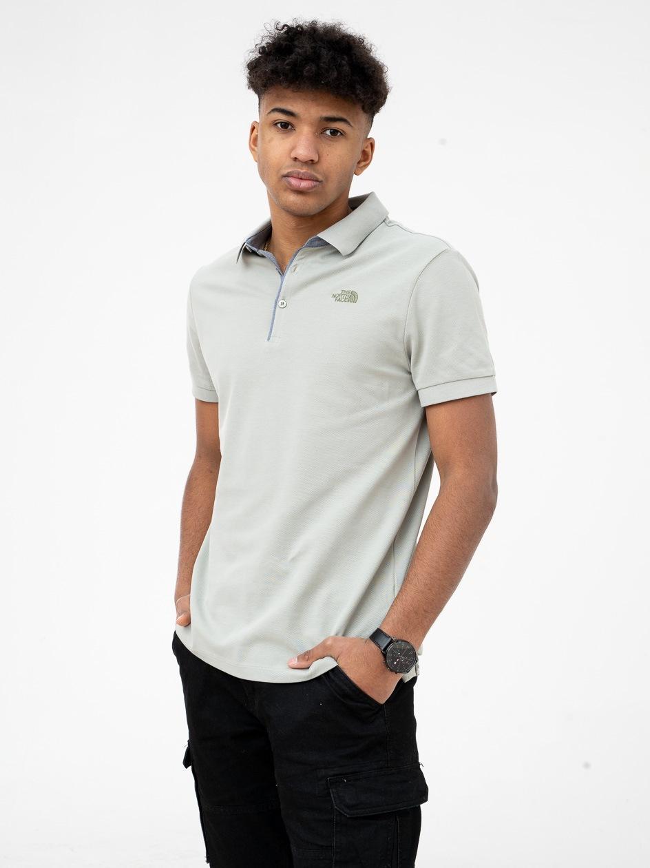 Koszulka Polo The North Face Premium Pique Jasna Oliwkowa