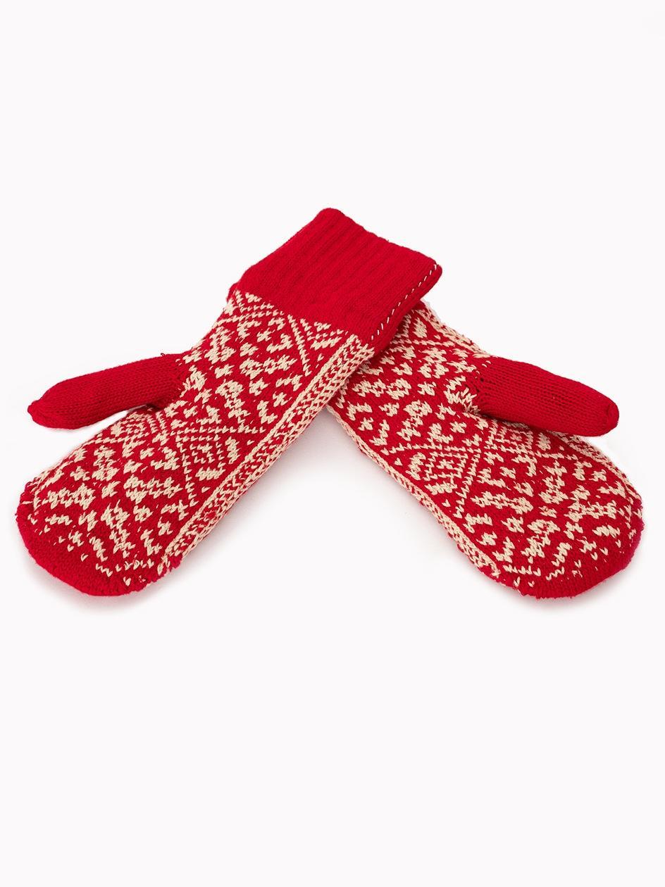 Rękawiczki TrueSpin Varejki Czerwone
