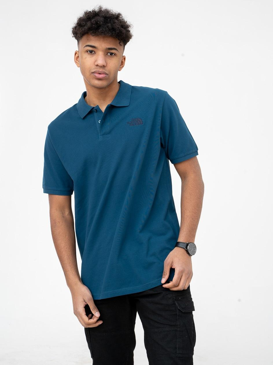 Koszulka Polo The North Face Premium Pique Ciemna Niebieska