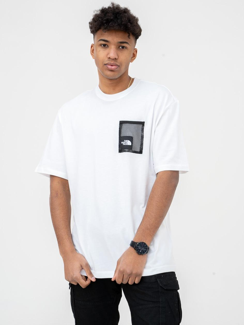 Koszulka Z Krótkim Rękawem The North Face Black Box Cute Biała