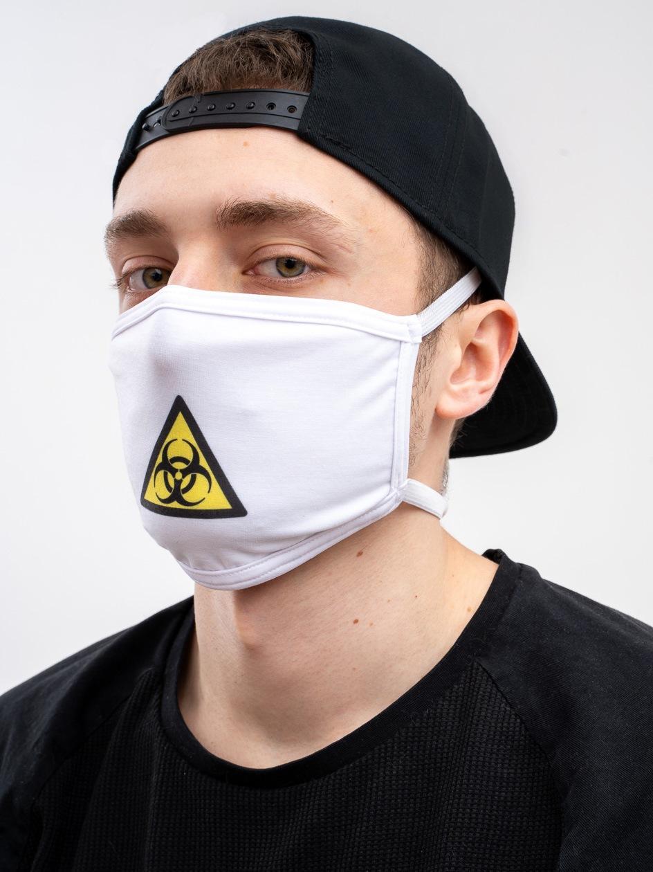 Maska Streetwearowa MyStars Poison Biała