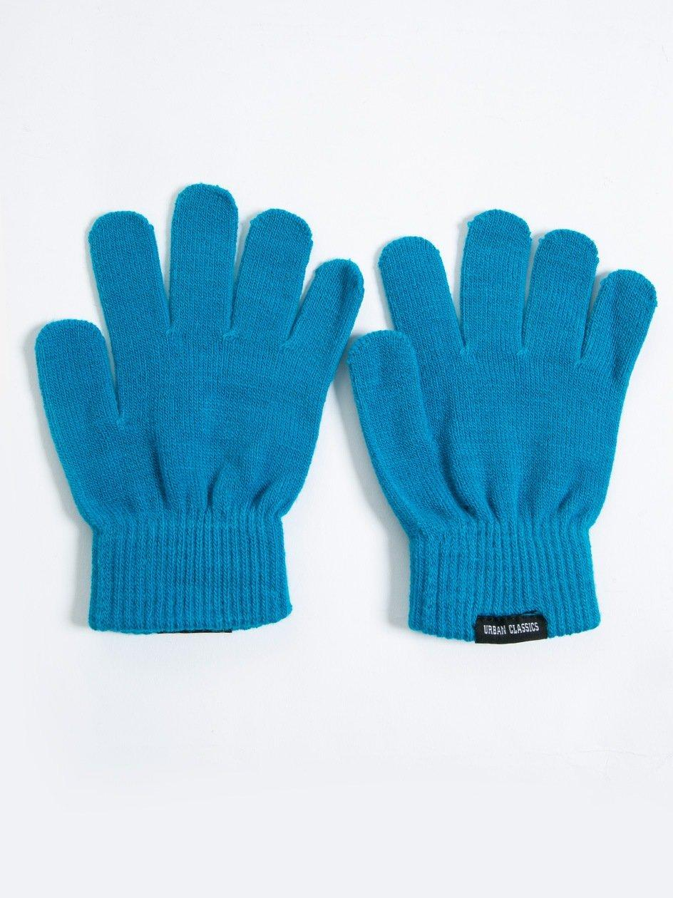 Knitted Gloves Turquoise TB320
