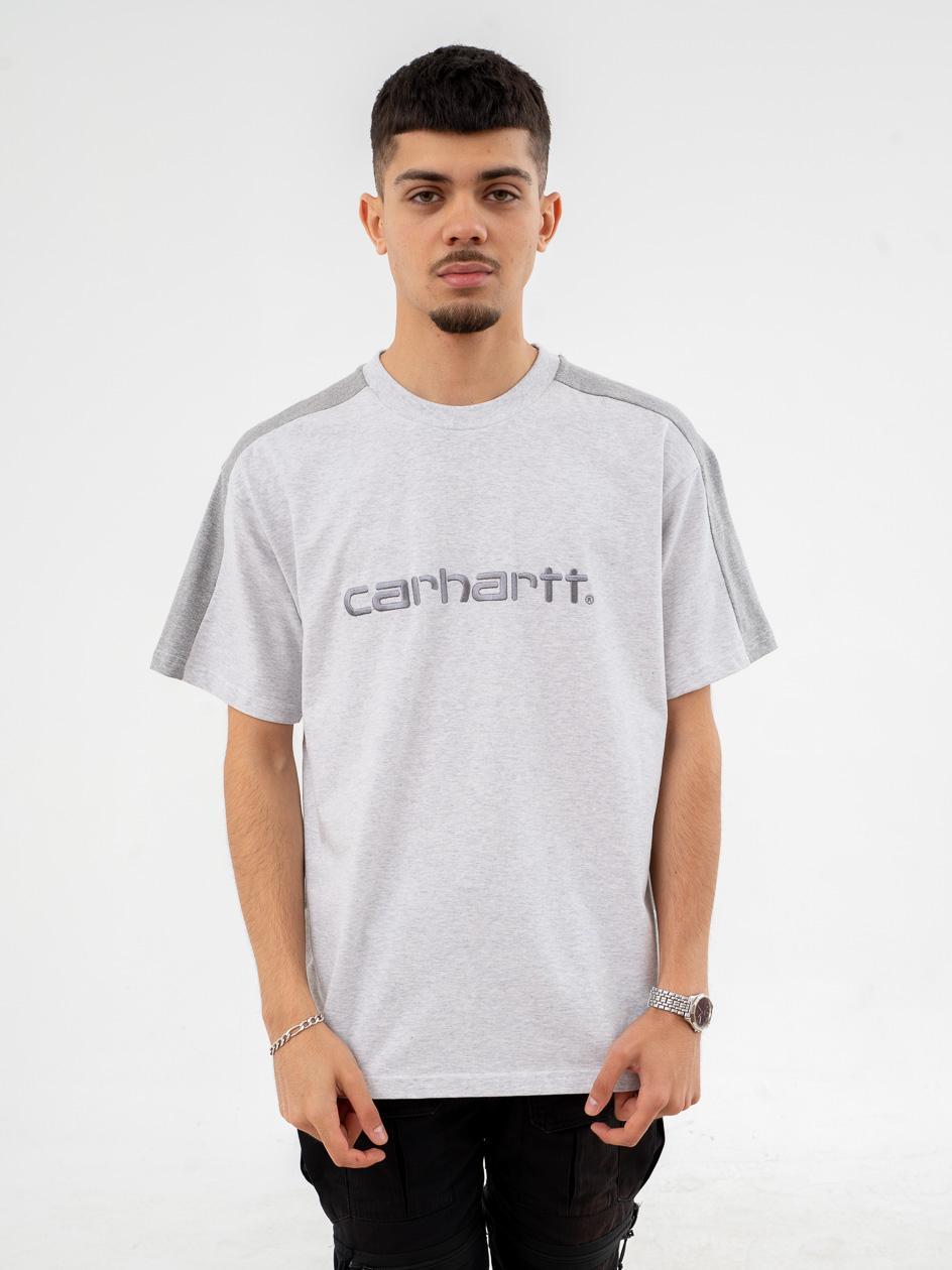 Koszulka Z Krótkim Rękawem Carhartt WIP Tonare Szara / Ciemna Szara