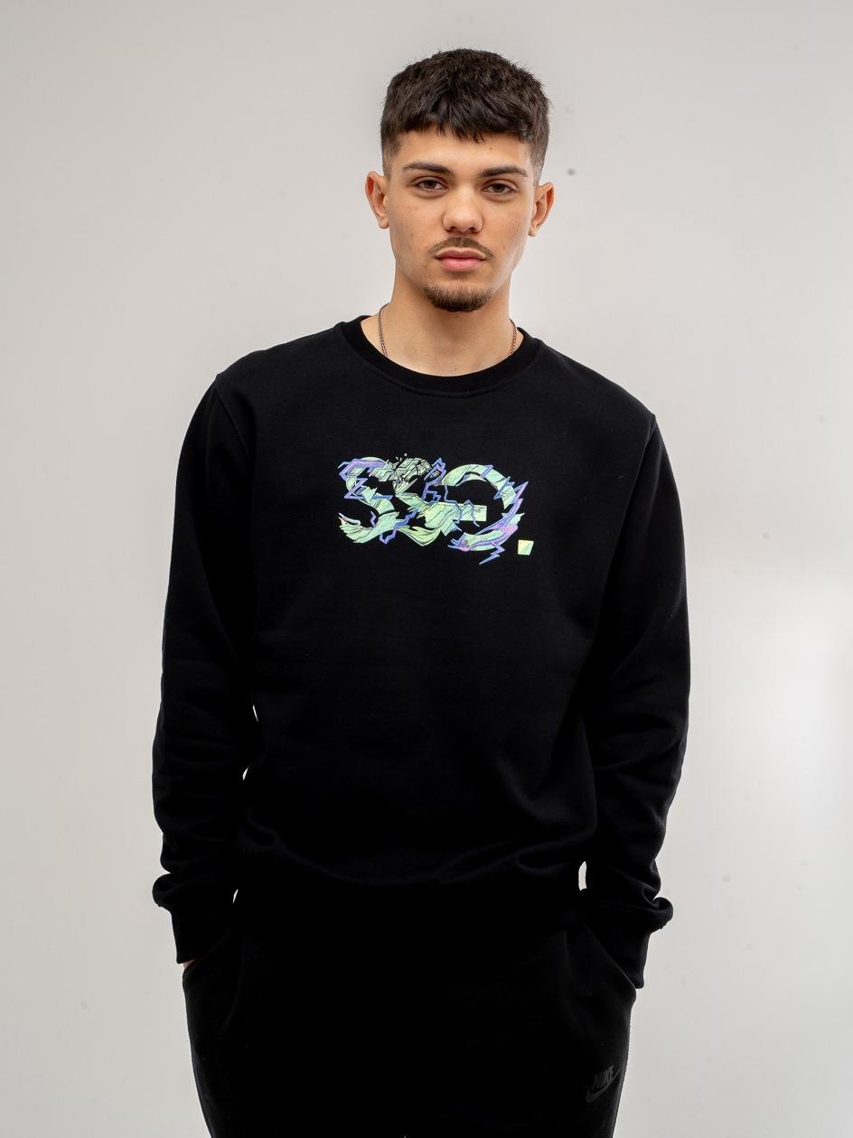 Bluza Bez Kaptura SSG Green Czarna