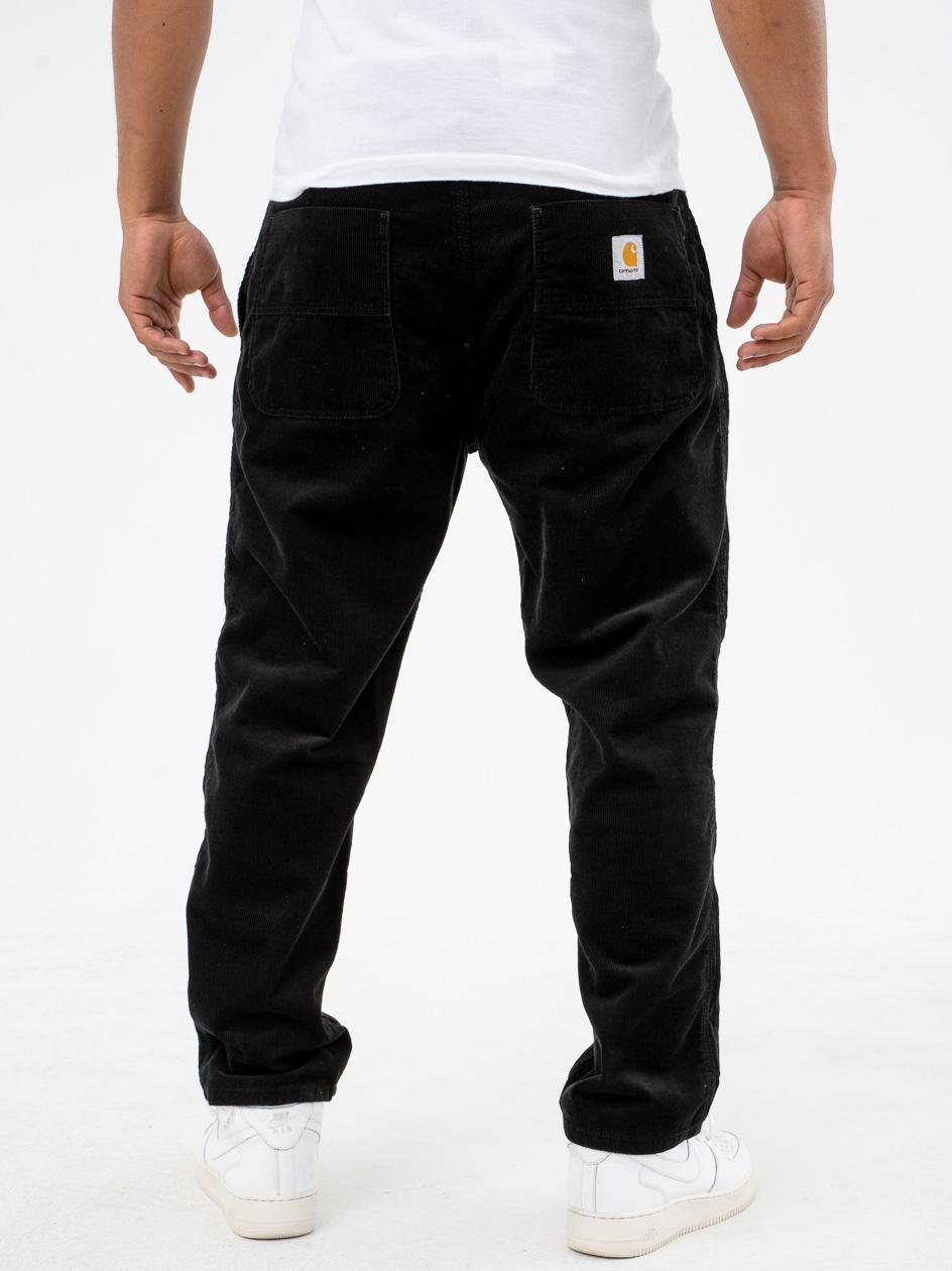 Spodnie Sztruksowe Carhartt WIP Abbott Czarne