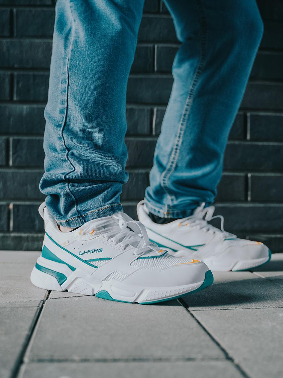 Buty Sportowe Li-Ning Classic Białe / Zielone