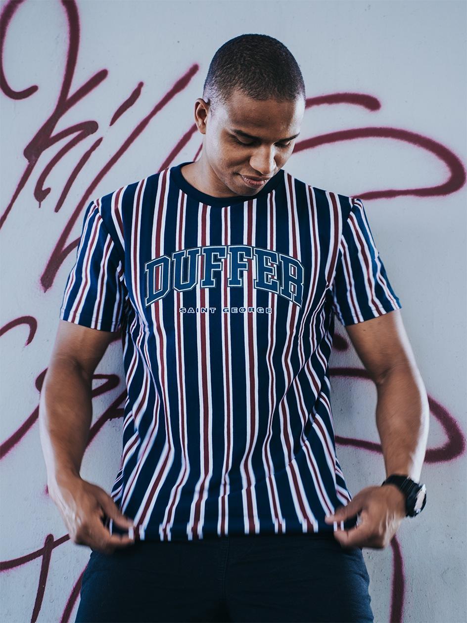 Koszulka Z Krótkim Rękawem Urban Selection Finchley Ciemna Niebieska