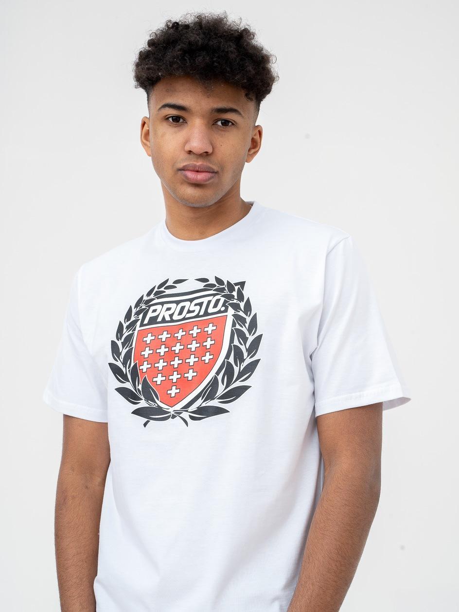 Koszulka Z Krótkim Rękawem Prosto Cesar Biała