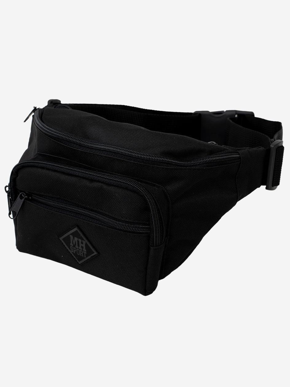 Nerka Metoda Sport Diamond Leather Big Bag Czarna
