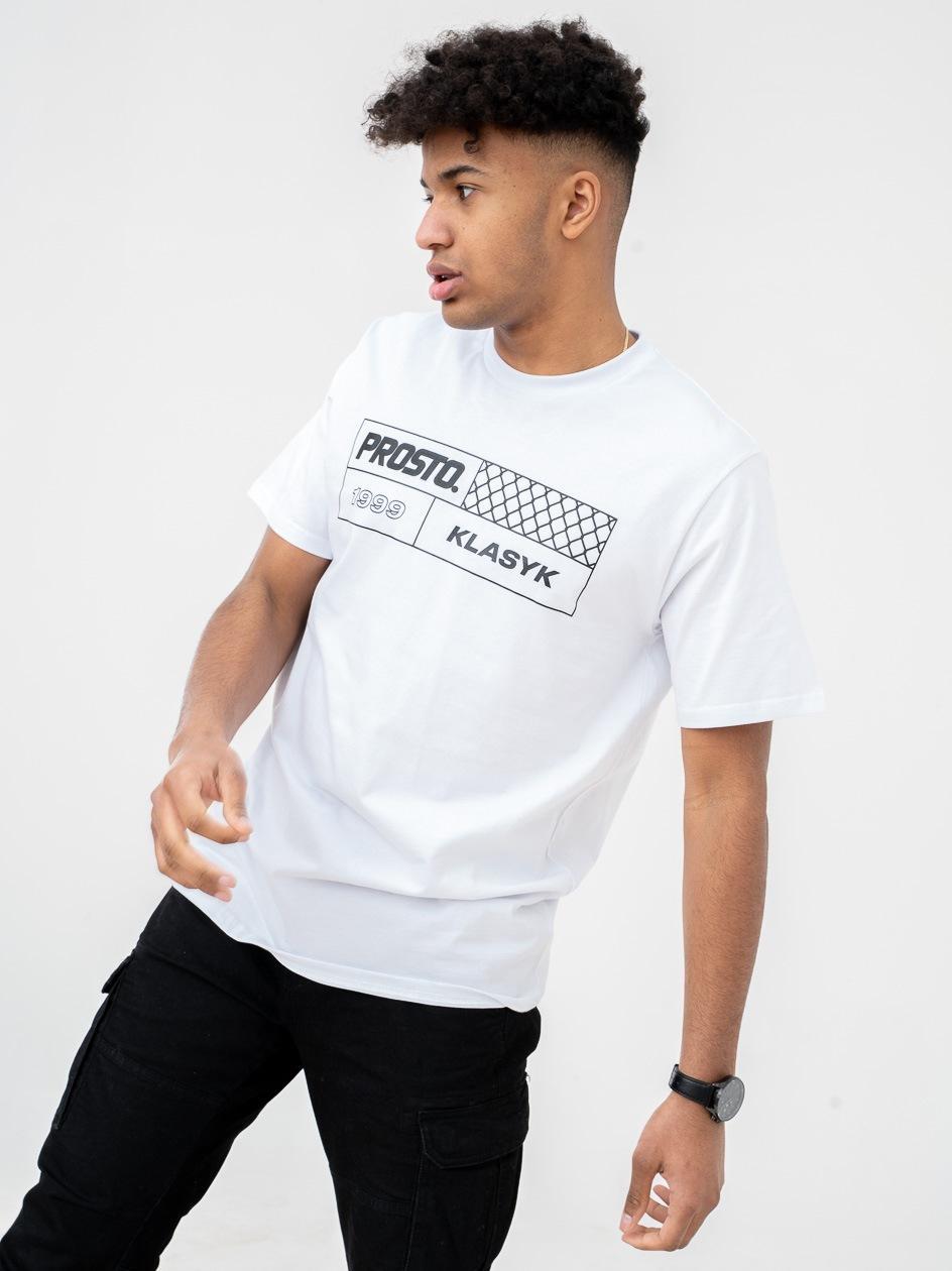 Koszulka Z Krótkim Rękawem Prosto FenceSquare Biała