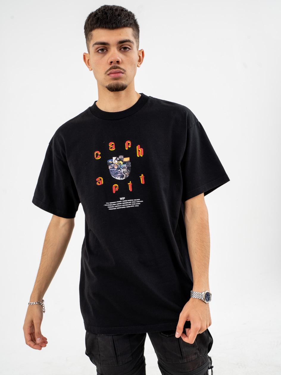 Koszulka Z Krótkim Rękawem Carhartt WIP Unite Czarna