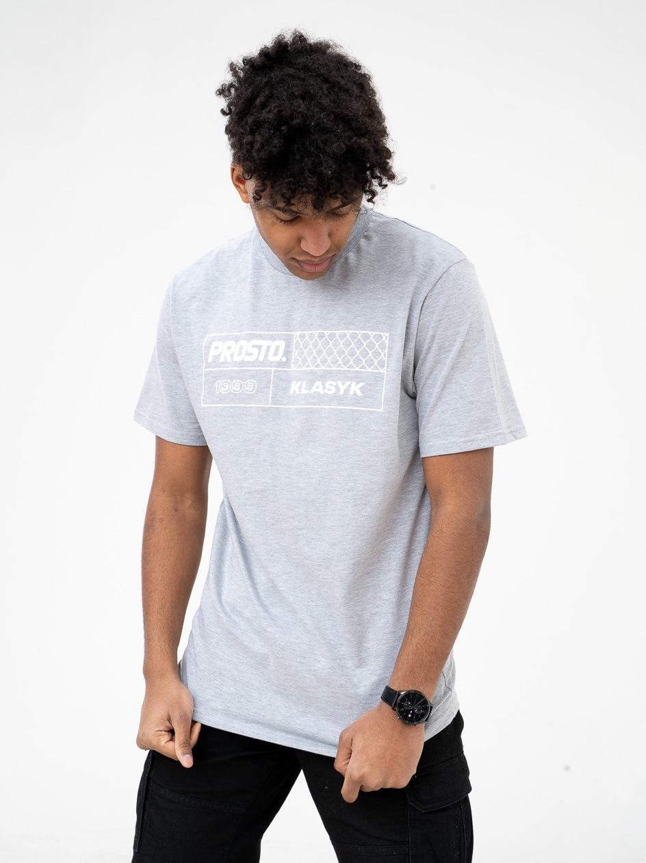 Koszulka Z Krótkim Rękawem Prosto FenceSquare Szara
