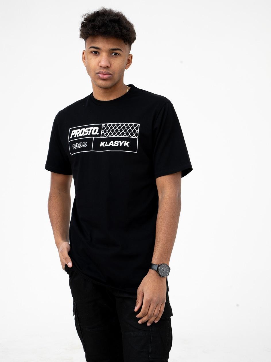 Koszulka Z Krótkim Rękawem Prosto FenceSquare Czarna