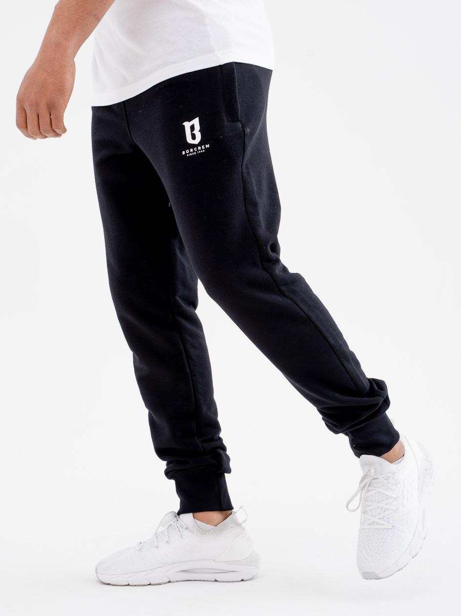 Spodnie Dresowe BOR B Czarna