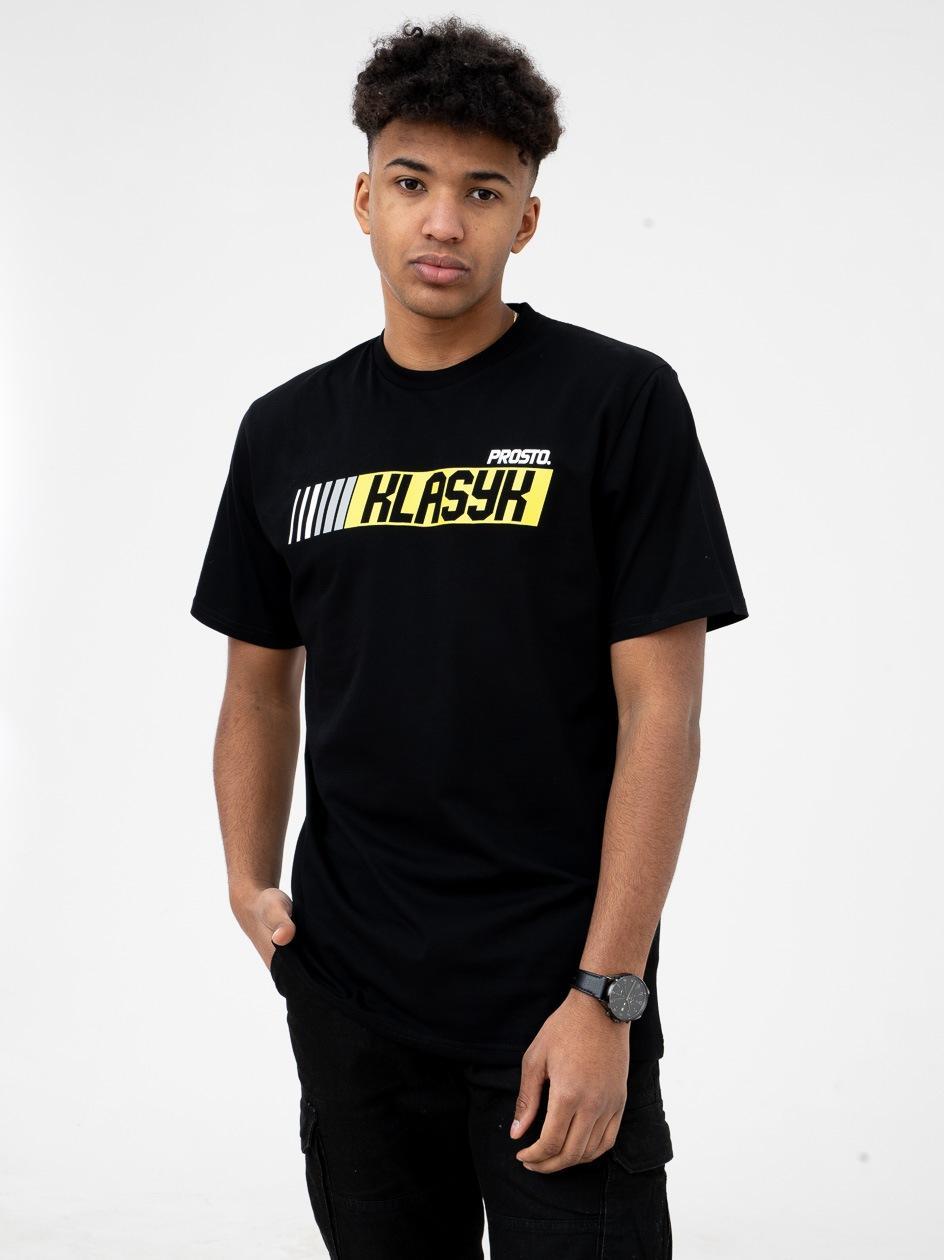 Koszulka Z Krótkim Rękawem Prosto FastClas Czarna