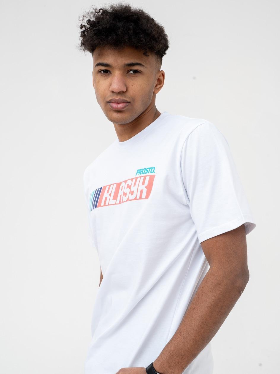 Koszulka Z Krótkim Rękawem Prosto FastClas Biała