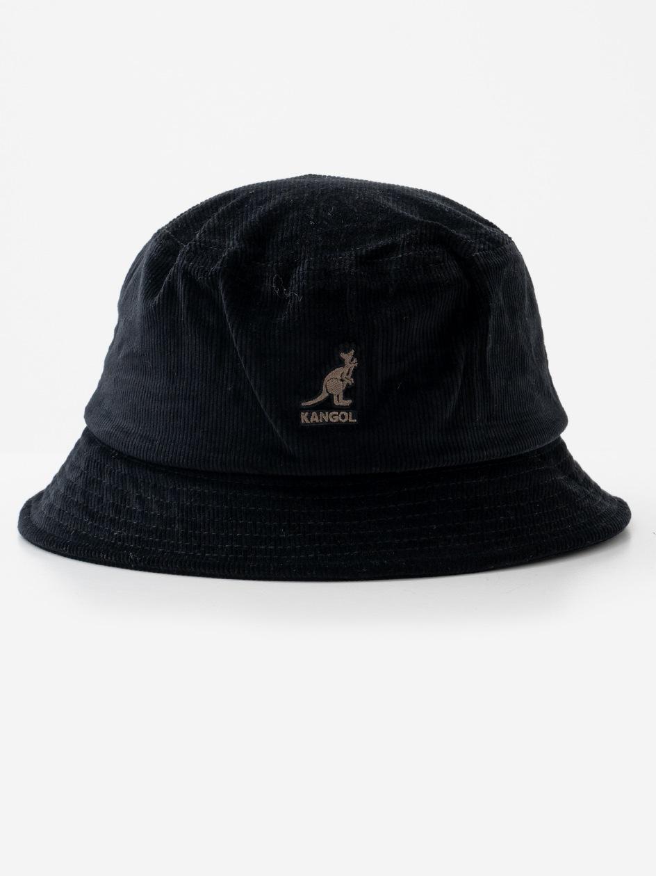 Kapelusz Bucket Hat Kangol Cord Czarny