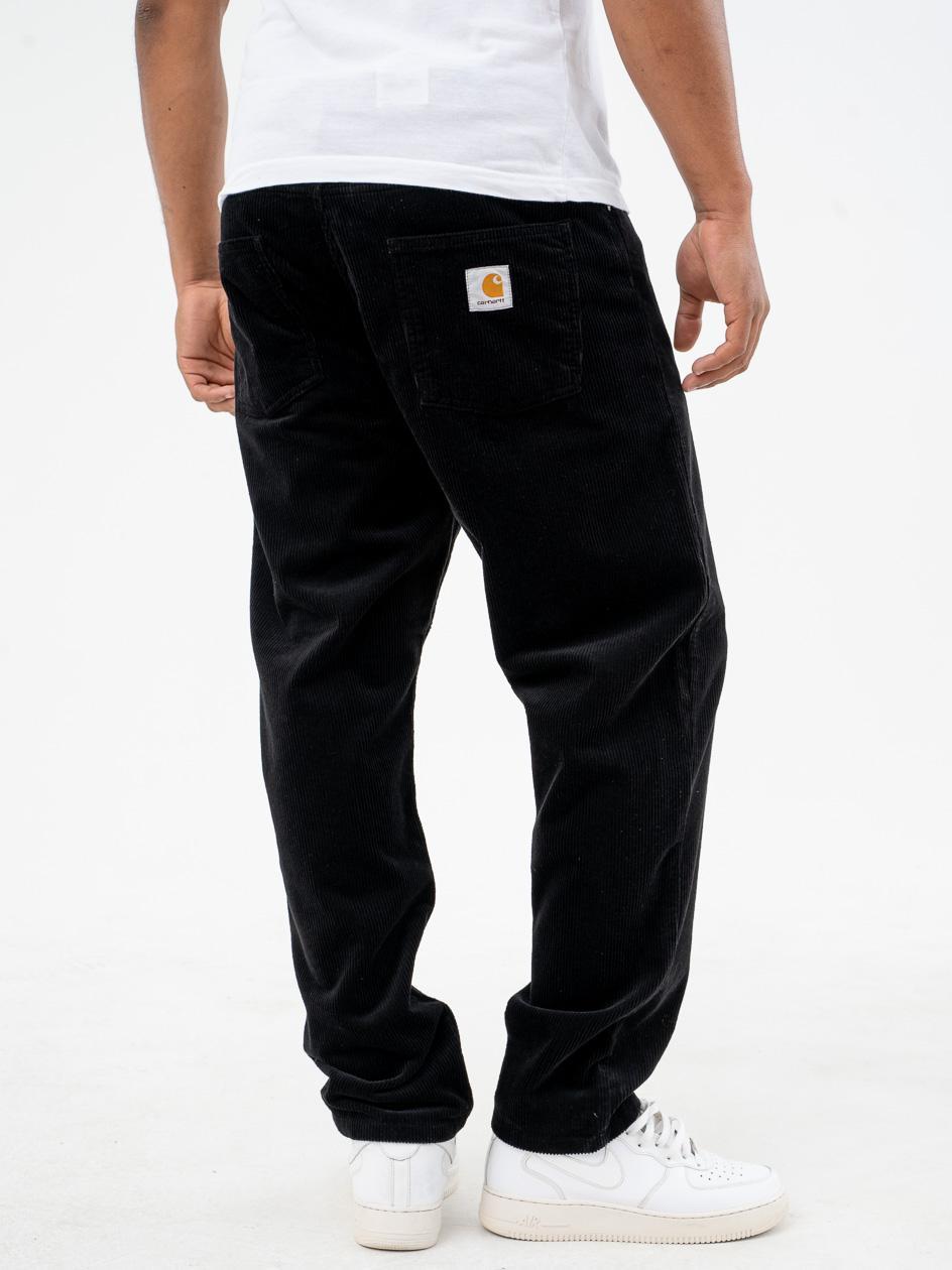 Spodnie Sztruksowe Carhartt WIP Newel Coventry Czarne