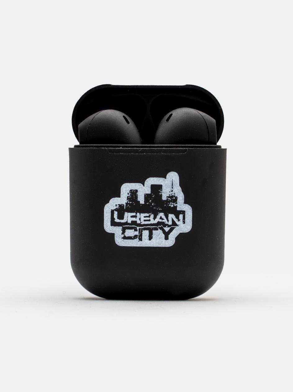 Słuchawki Bezprzewodowe Bluetooth UrbanCity UC Logo Czarne