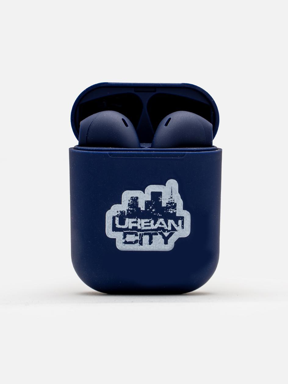 Słuchawki Bezprzewodowe Bluetooth UrbanCity UC Logo Granatowe