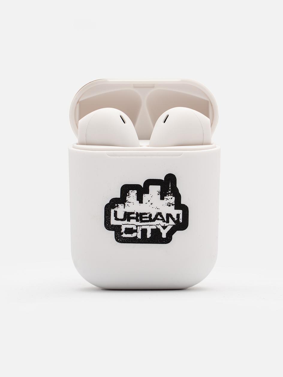 Słuchawki Bezprzewodowe Bluetooth UrbanCity UC Logo Białe