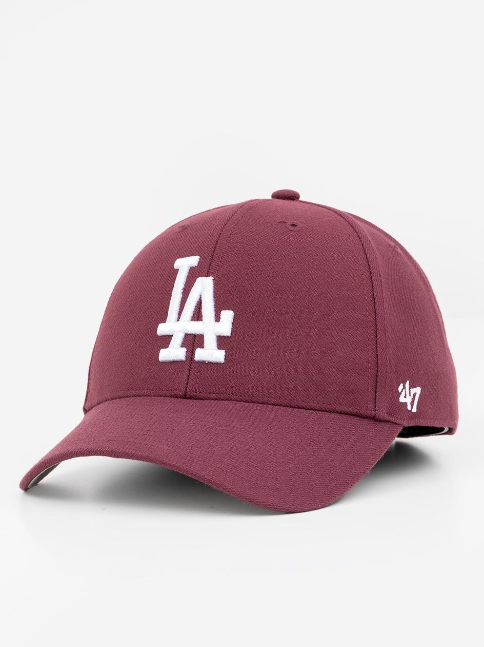 Czapka Z Daszkiem Dad Hat 47 Brand Los Angeles Dodgers Bordowa
