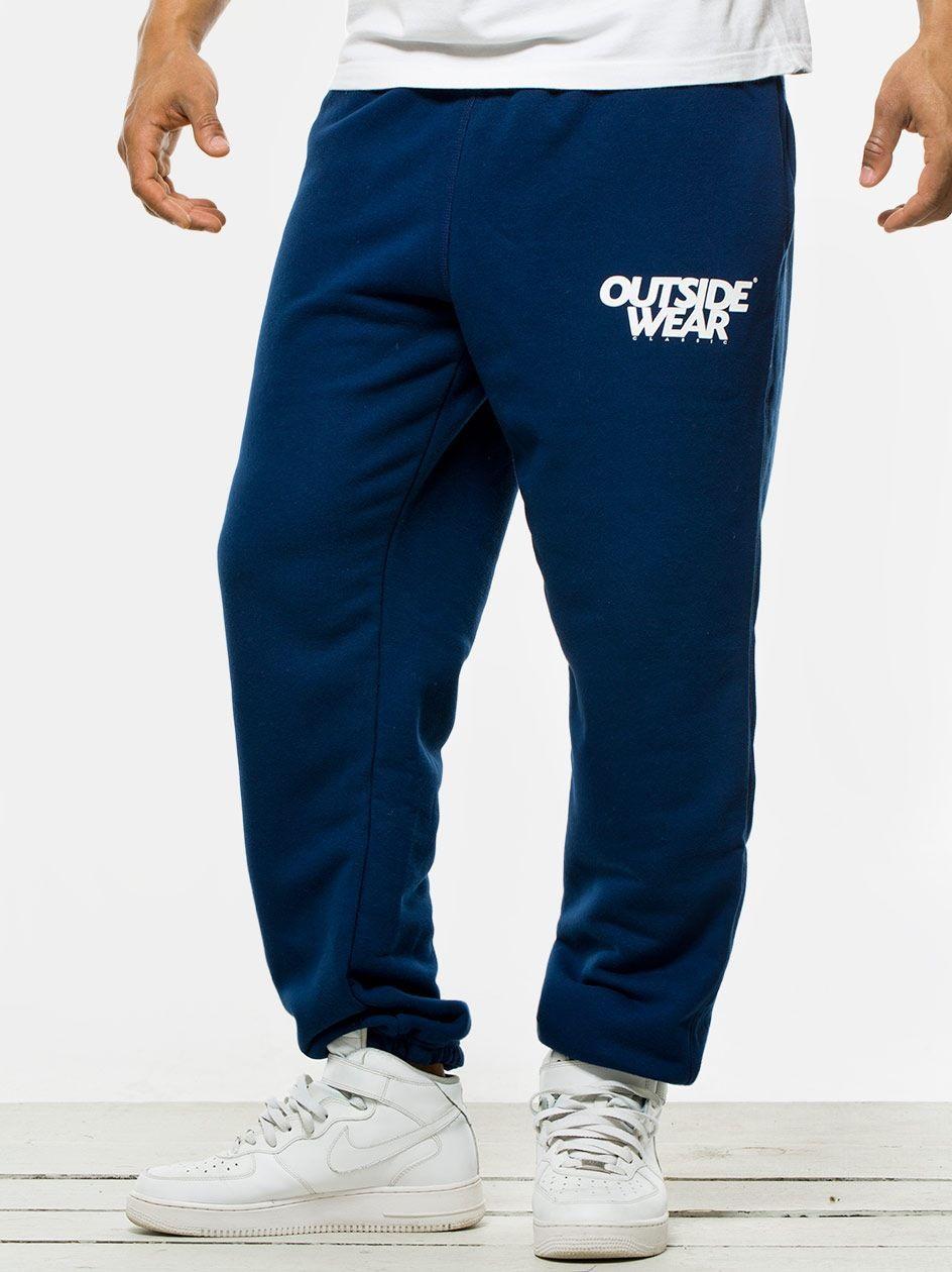 Spodnie Dresowe Outsidewear CL Granatowe
