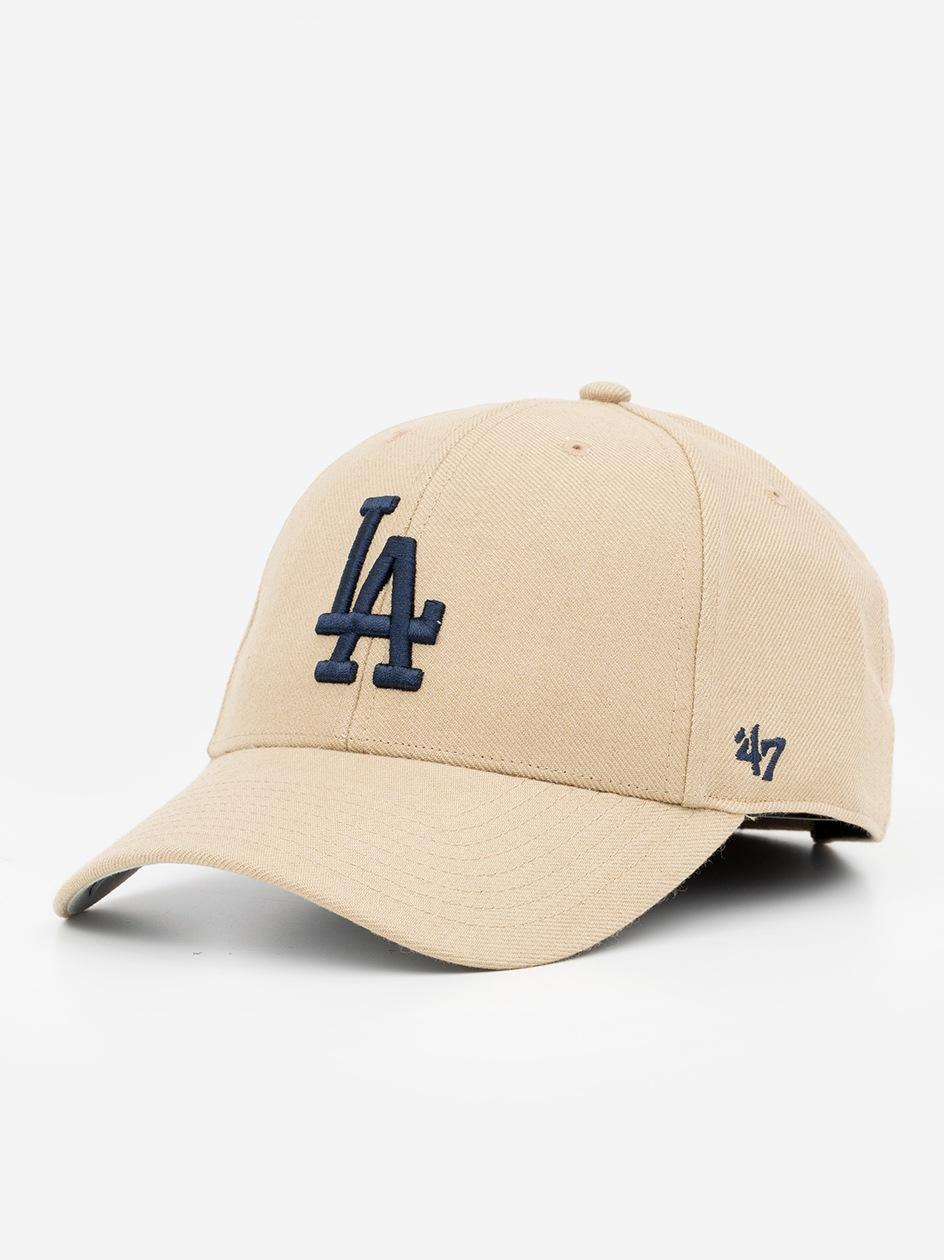Czapka Z Daszkiem Dad Hat 47 Brand Los Angeles Dodgers Jasna Brązowa