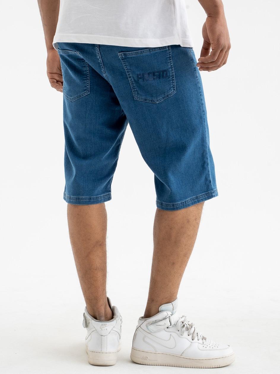 Krótkie Spodenki Jeansowe Prosto Surog Niebieskie