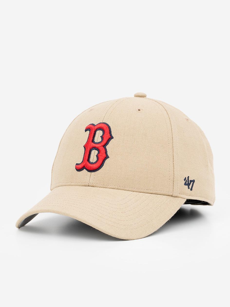 Czapka Z Daszkiem Dad Hat 47 Brand Boston Red Sox Jasna Brązowa