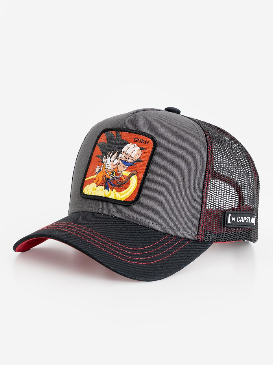 Czapka Z Daszkiem Capslab Dragon Ball Z Goku Czarna