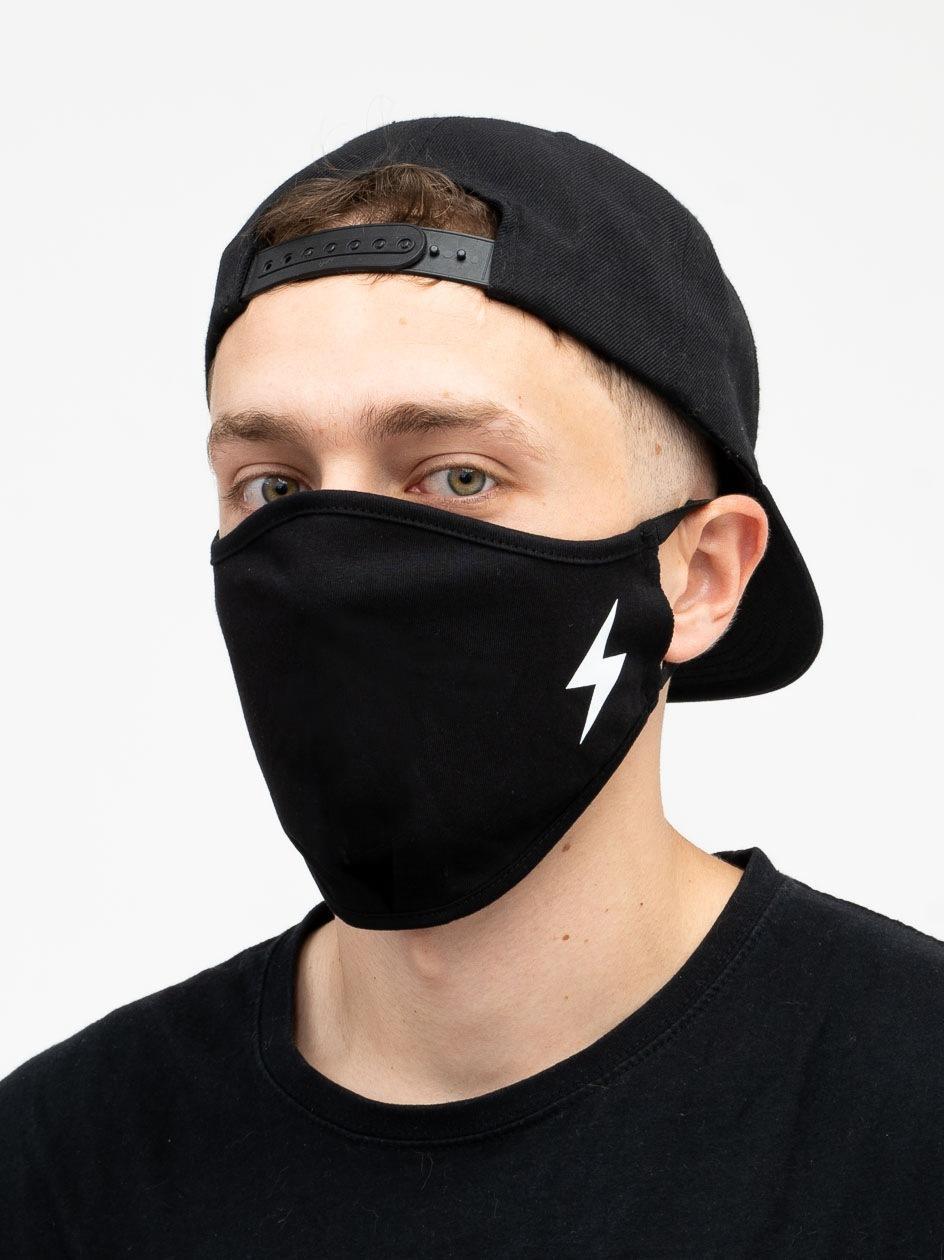 Maska Streetwearowa MyStars Flash Czarna