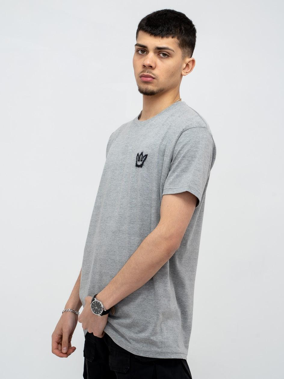 Koszulka Z Krótkim Rękawem Jigga Mini Spray Szara