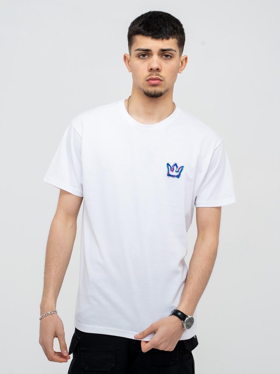 Koszulka Z Krótkim Rękawem Jigga Mini Spray Biała