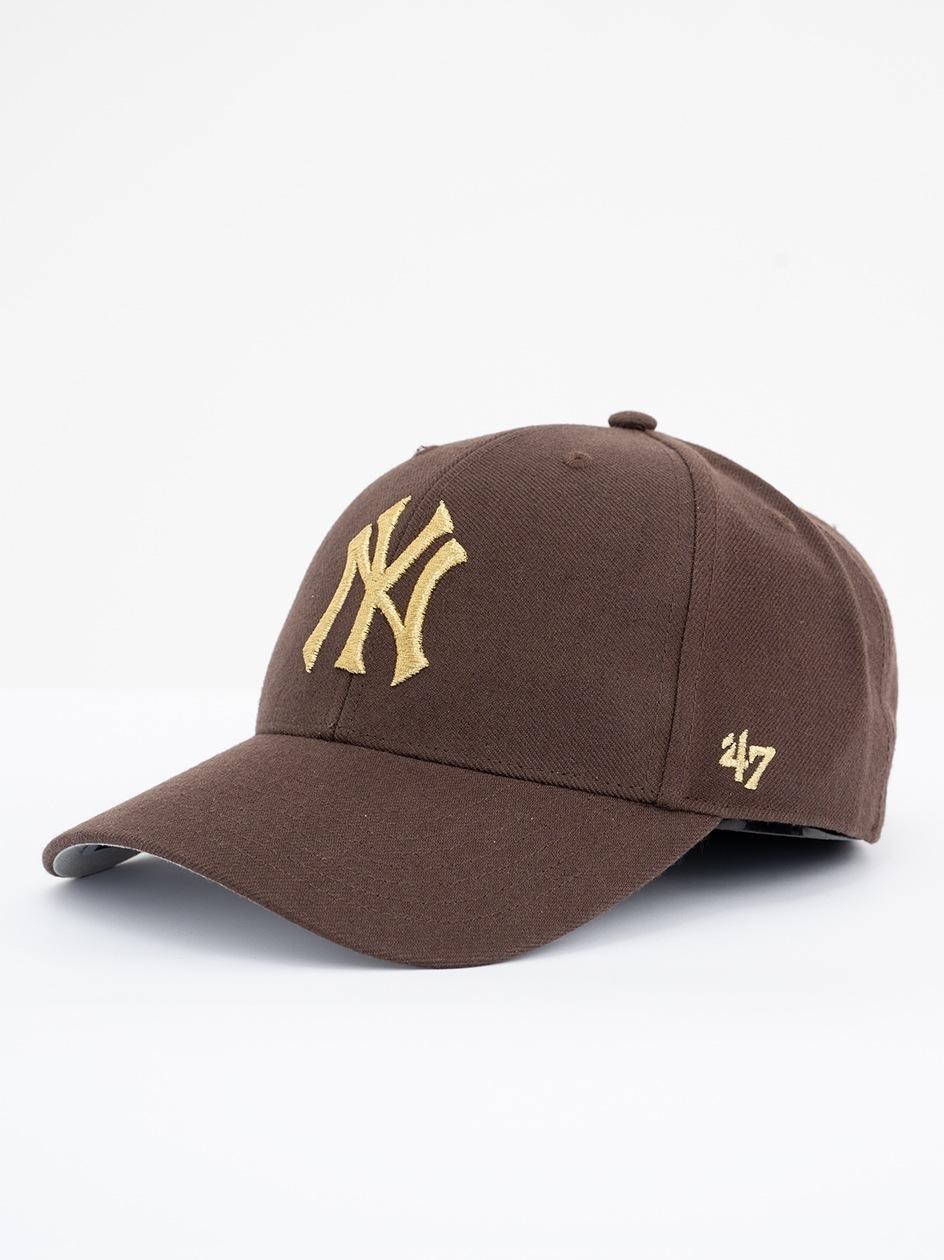 Czapka Z Daszkiem Dad Hat 47 Brand New York Yankees MLB Legend Brązowa