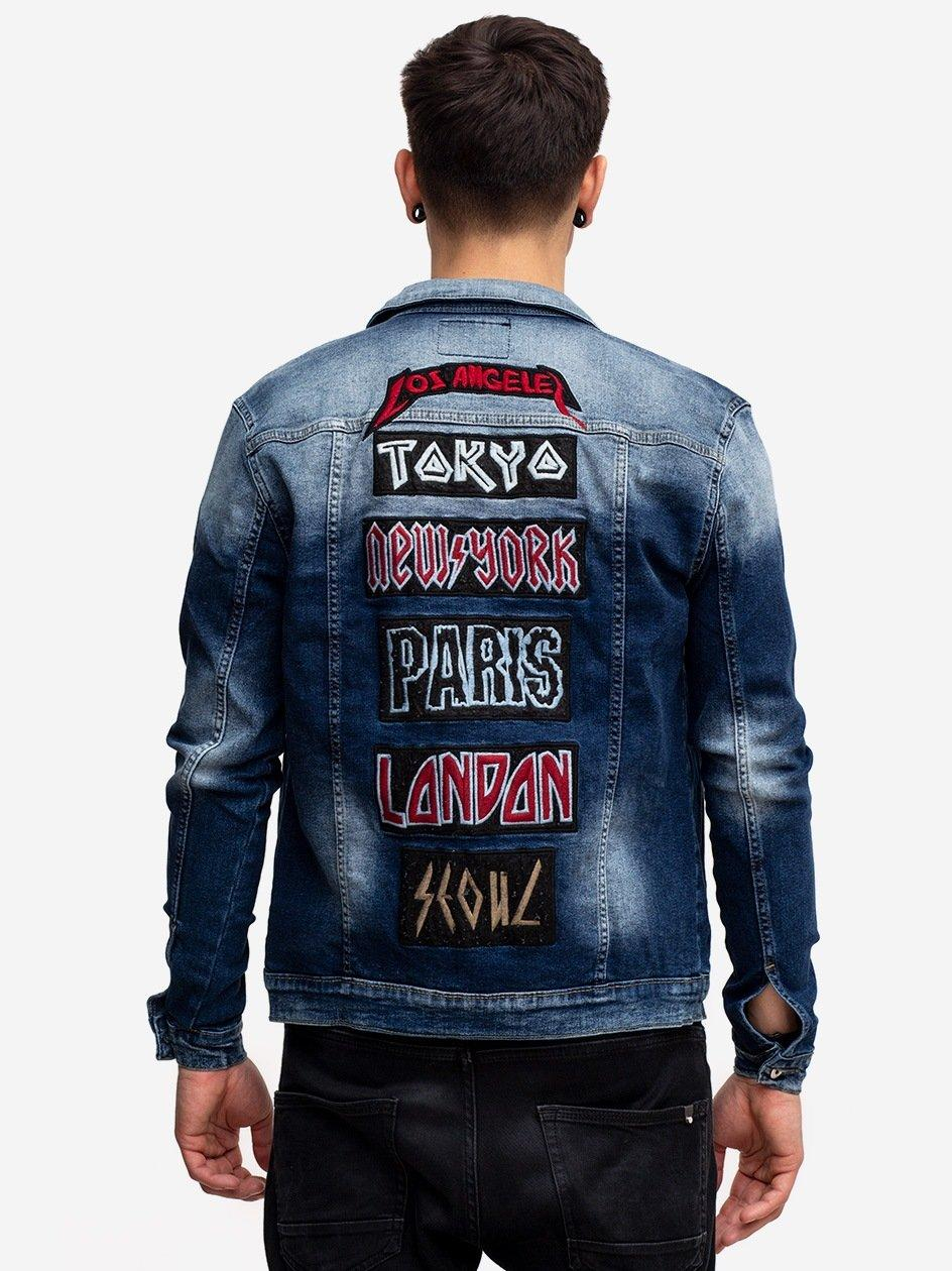 Cities Jeans Jacket Blue