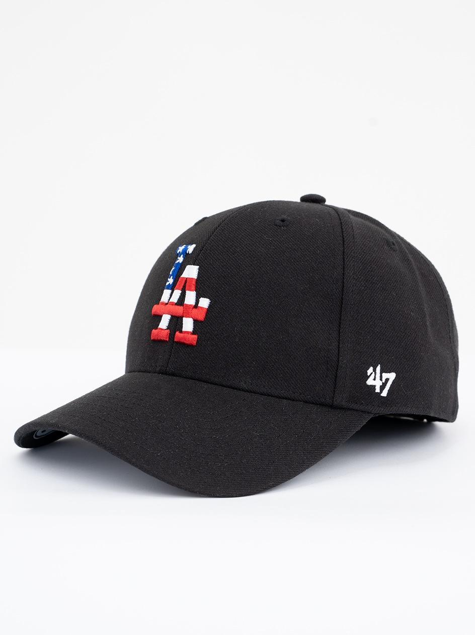 Czapka Z Daszkiem Dad Hat 47 Brand Los Angeles Dodgers Czarna
