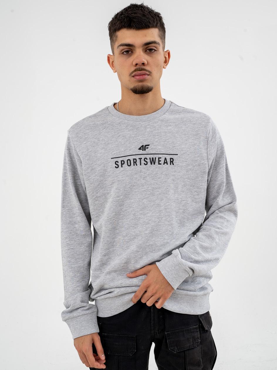 Bluza Bez Kaptura 4F Sportswear Szara