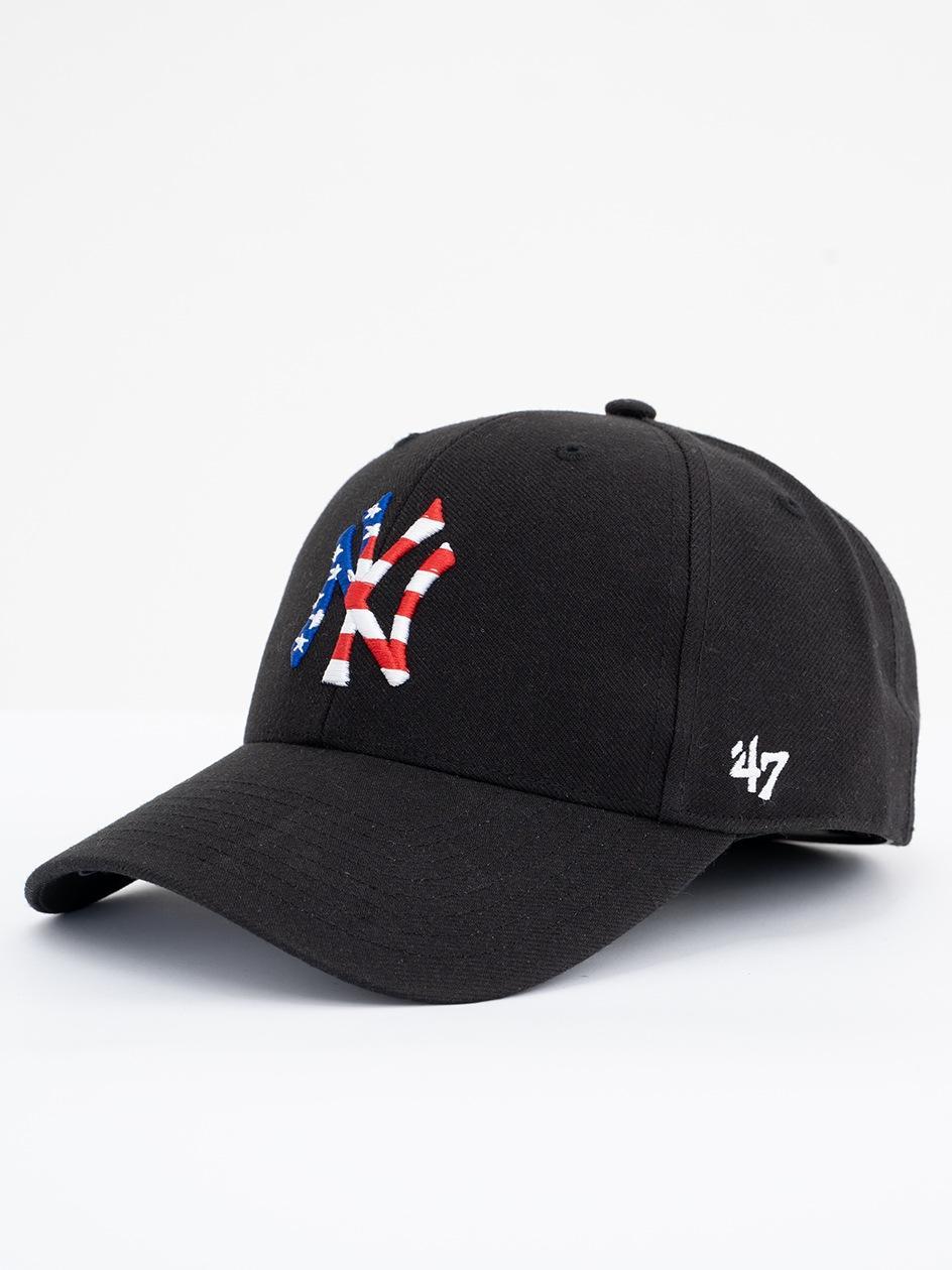 Czapka Z Daszkiem Dad Hat 47 Brand New York Yankees Czarne