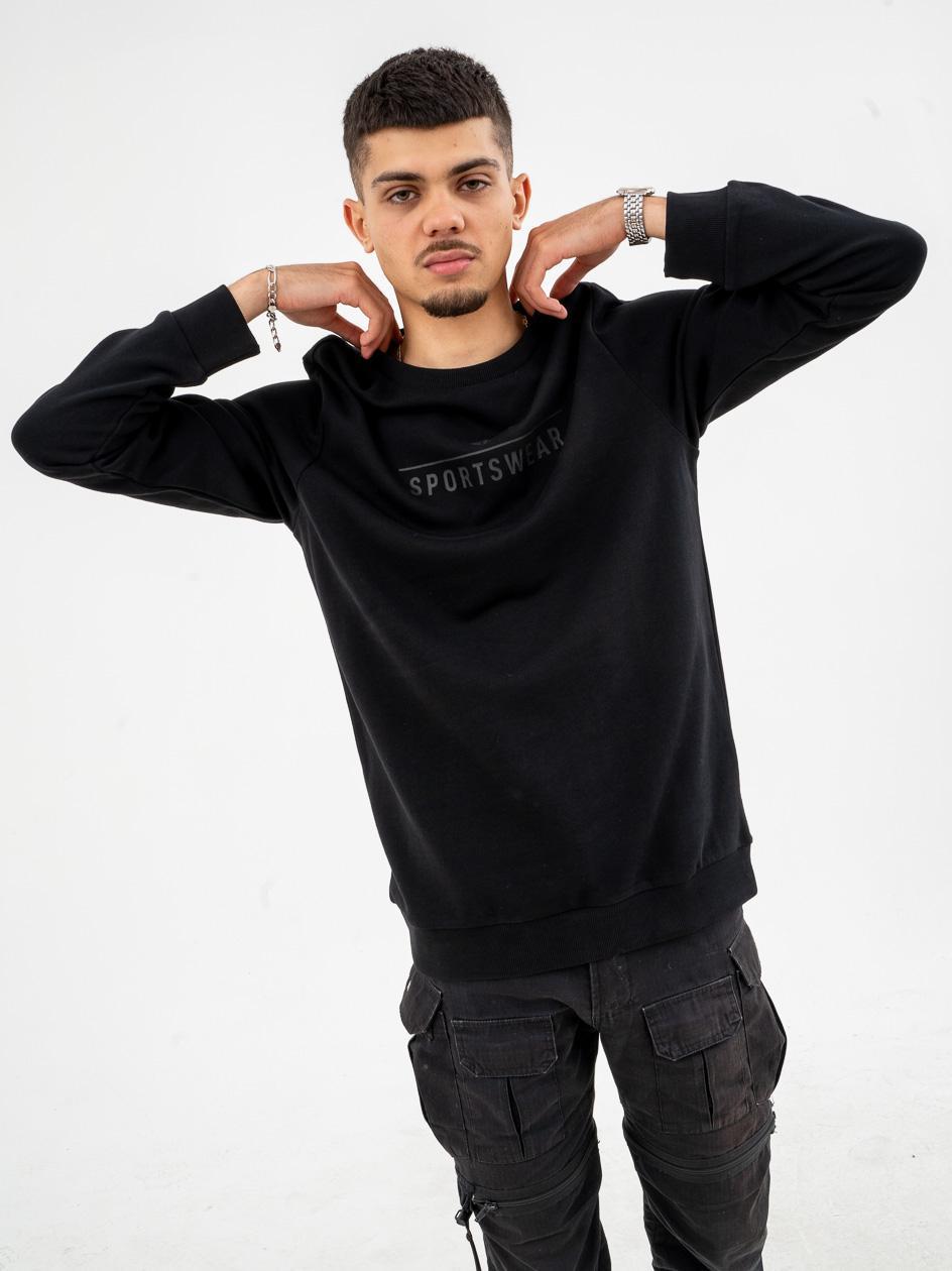Bluza Bez Kaptura 4F Sportswear Czarna