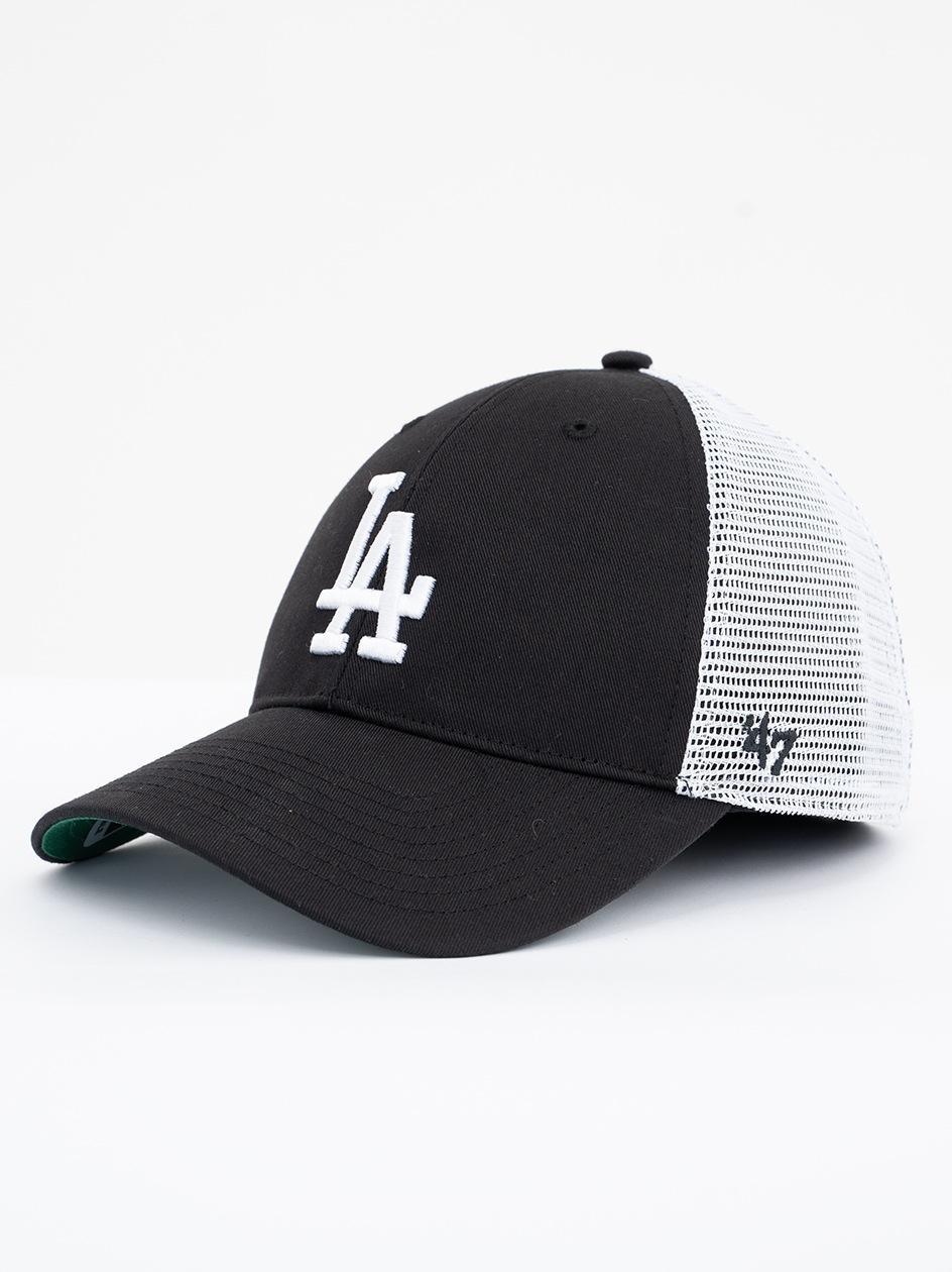 Czapka Z Daszkiem Trucker 47 Brand Los Angeles Dodgers MLB Branson Czarna
