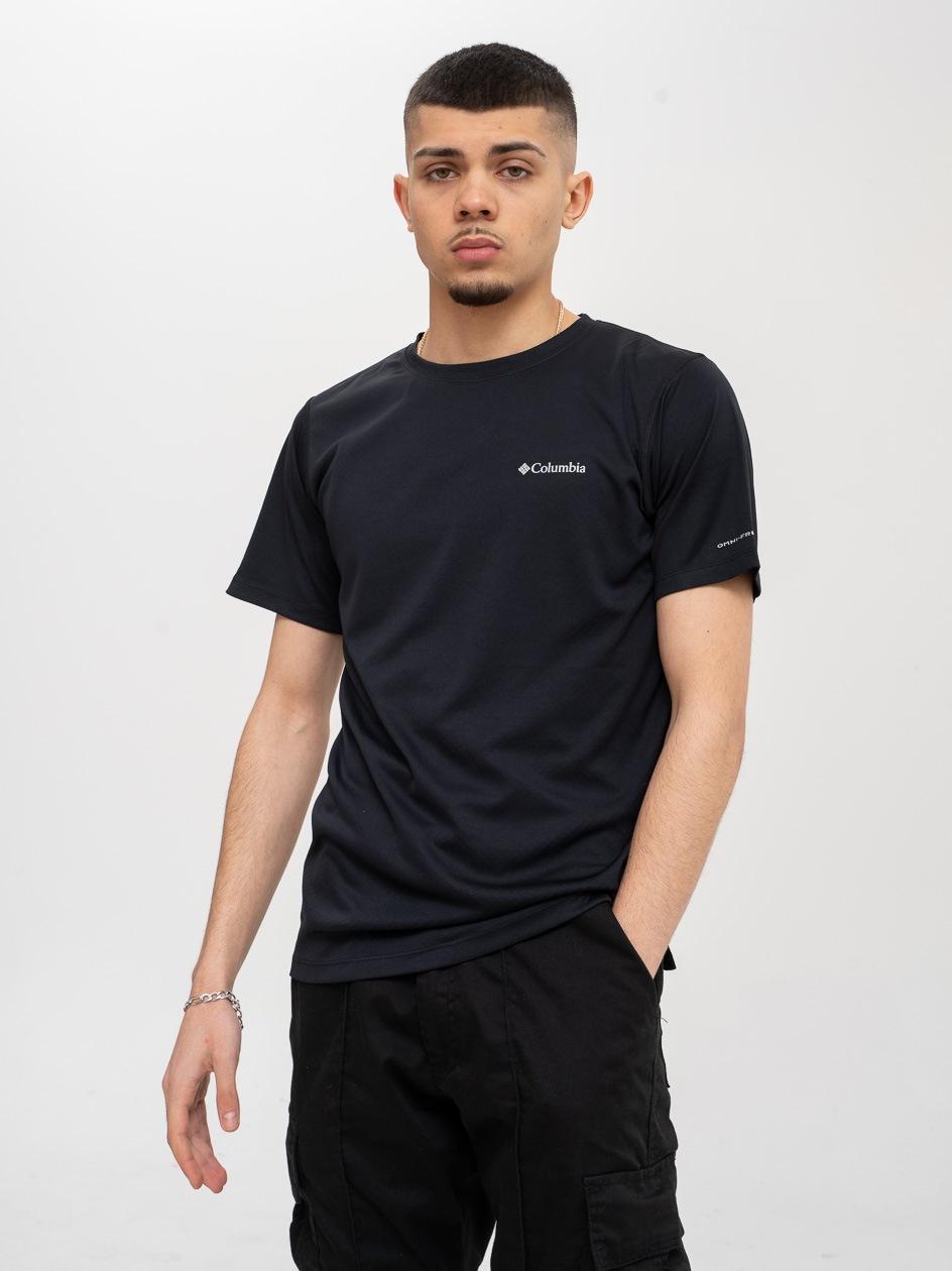 Koszulka Z Krótkim Rękawem Columbia Zero Rules Czarna