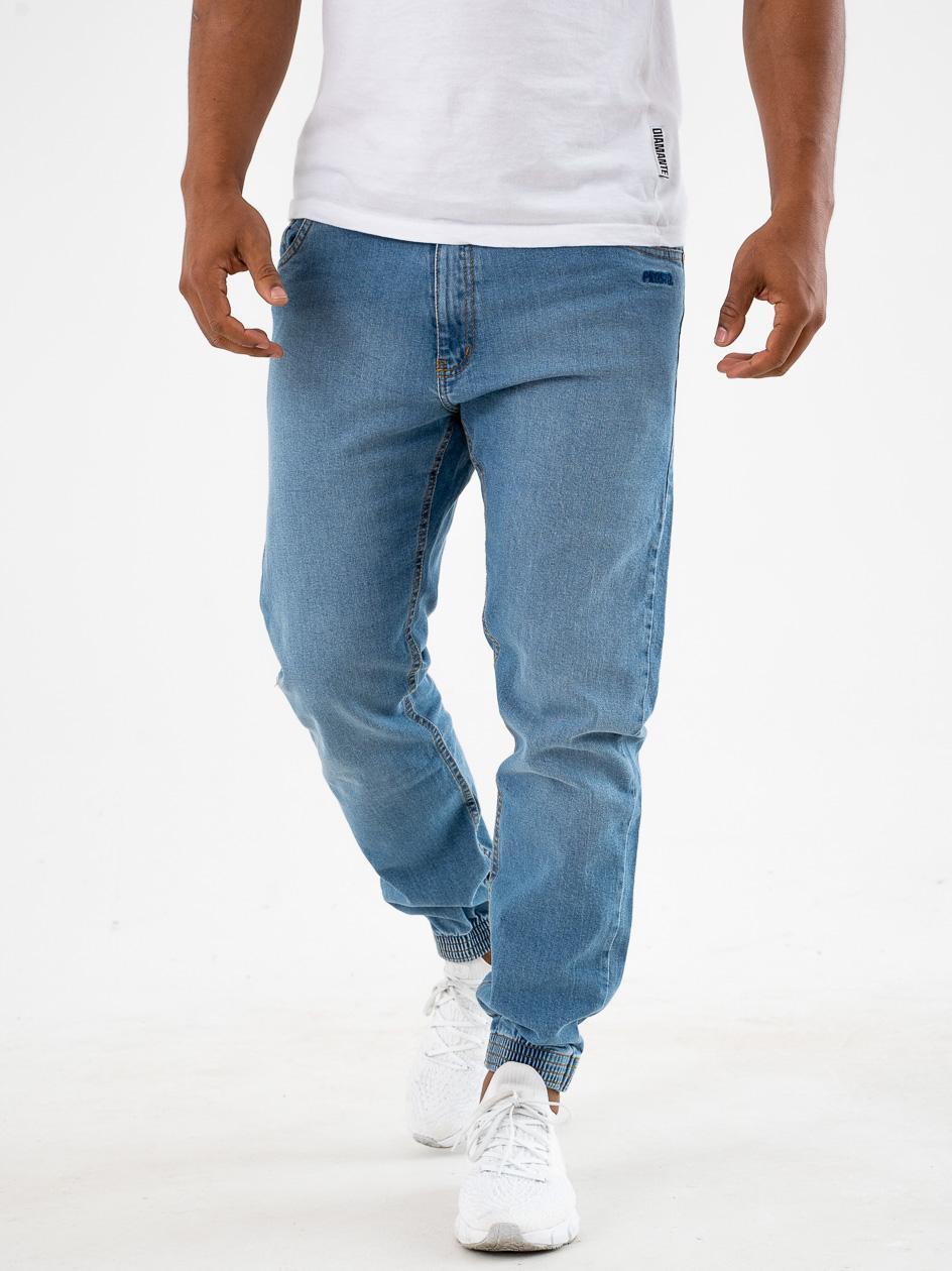 Spodnie Jeansowe Jogger Prosto Munk Czarne copy