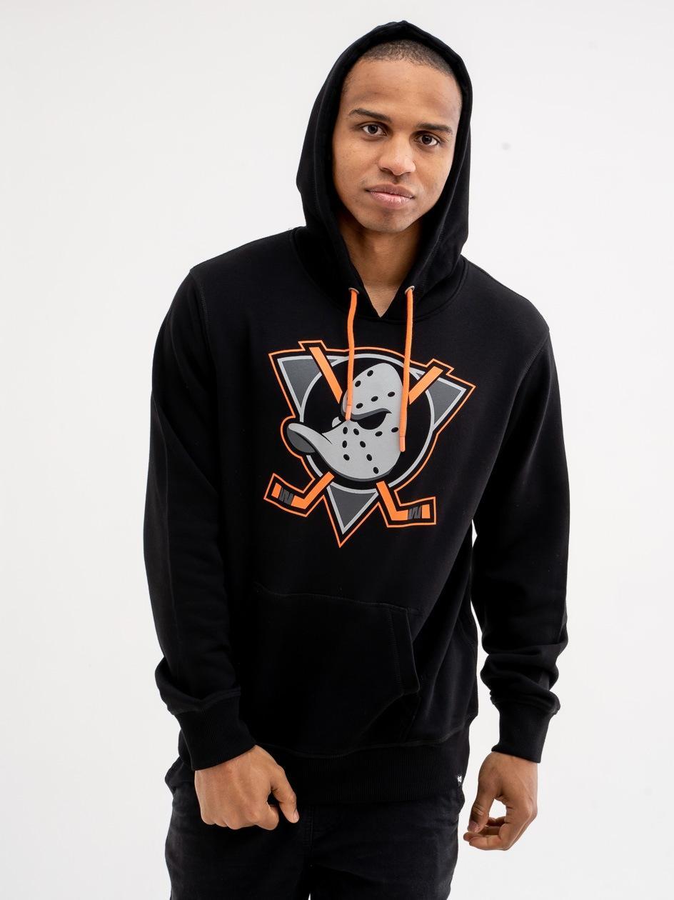 Bluza Z Kapturem 47 Brand Anaheim Ducks Helix Czarne
