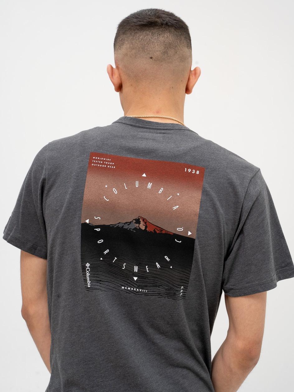 Koszulka Z Krótkim Rękawem Columbia Rapid Ridge Graphic Czarna