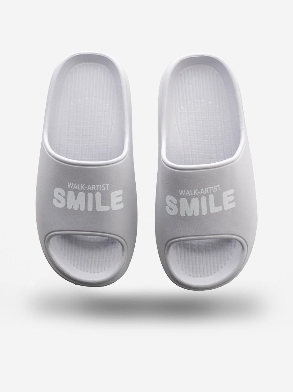 Klapki Urban Selection Smile Szare