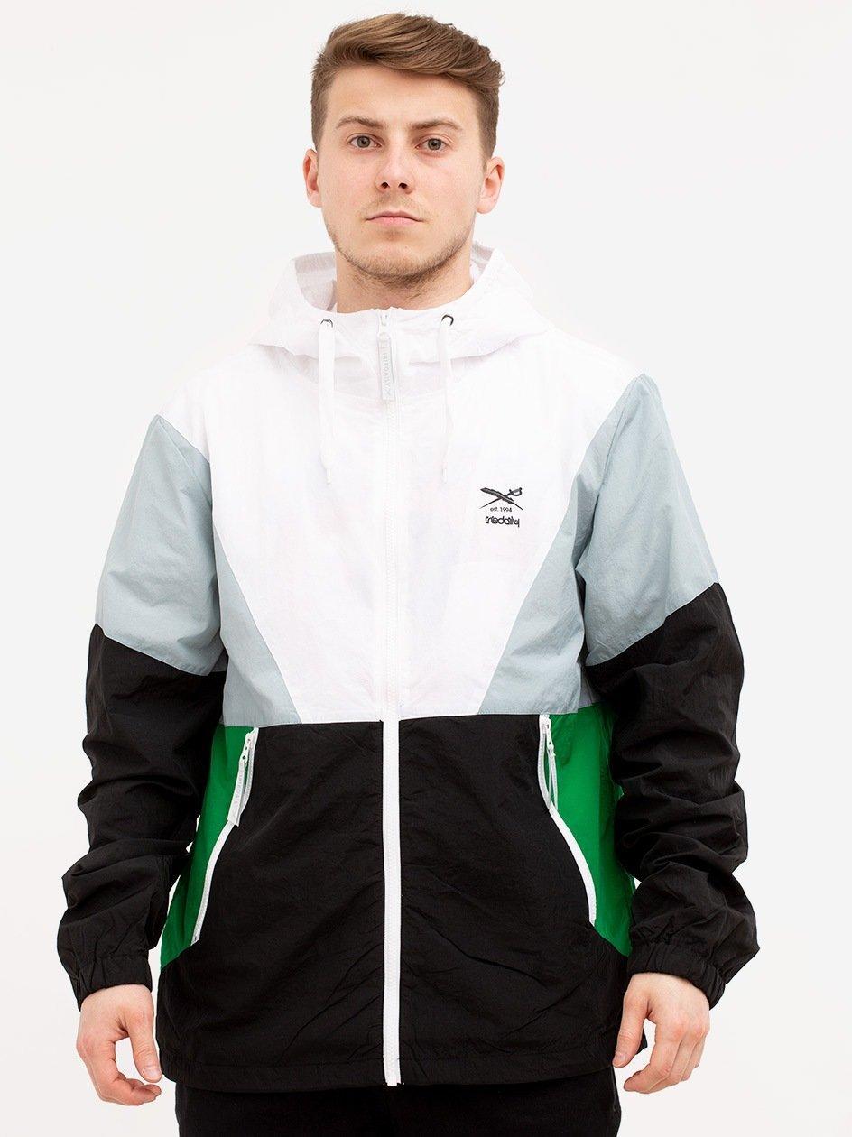 Get Down Hood Jacket Black White