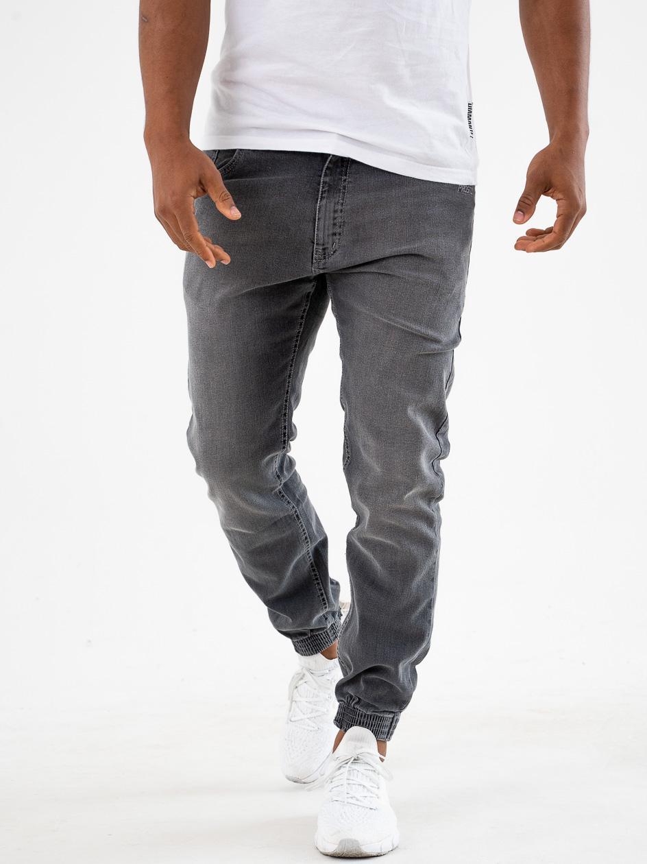 Spodnie Jeansowe Jogger Prosto Munk Szare